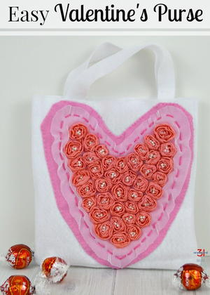 Easy Valentine Bag