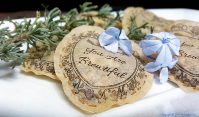 Gorgeous Herbal Infused Bath Tea Bags