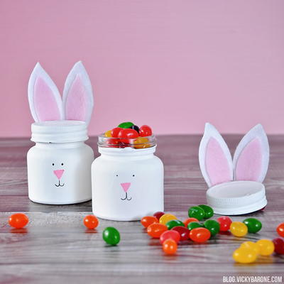 Little DIY Easter Mason Jars