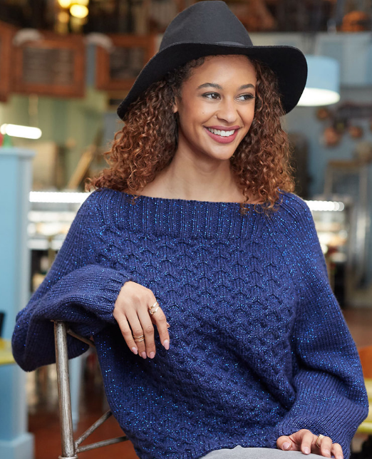 Royal Cable Knit Sweater