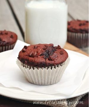 Copycat Costco Double Chocolate Muffins