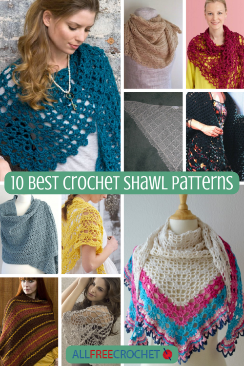 10 Best Crochet Shawl Patterns Allfreecrochetcom