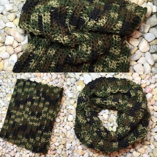 Camo Hunting Snood/Neck Gaiter