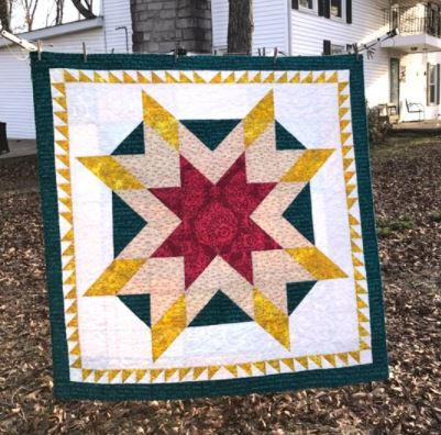 Speak of Love Star Quilt