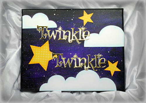 Twinkle DIY Galaxy Painting on Canvas