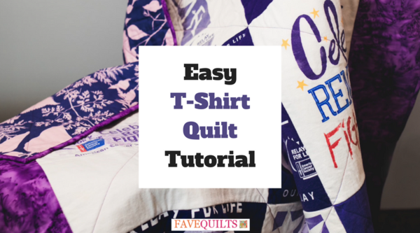 Easy T-Shirt Quilt Tutorial