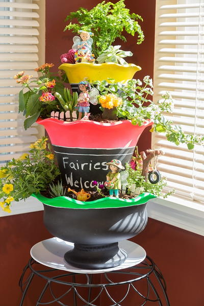 3-Tier DIY Indoor Fairy Garden