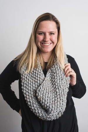 Beginner Snood Knit Pattern