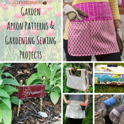 12 Garden Apron Patterns and Gardening Sewing Projects