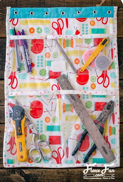 DIY Craft Room Organizer
