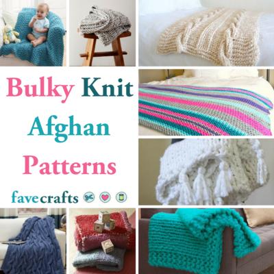 27 Bulky Knit Afghan Patterns Favecrafts