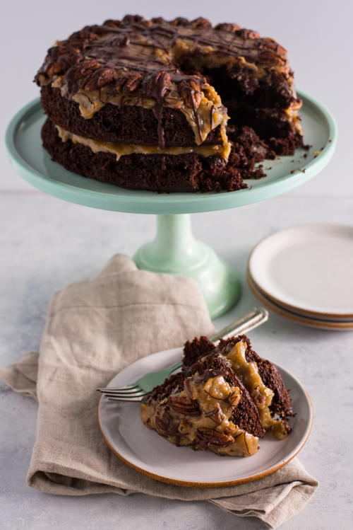 Easy German Chocolate Cake Recipe