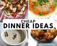 24 Cheap Dinner Ideas for the Thrifty Chef
