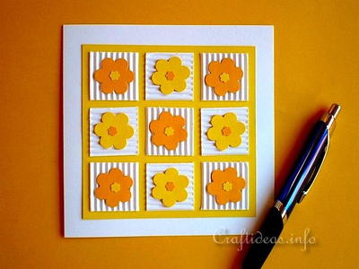 Patchwork Flowers All Occasion Card