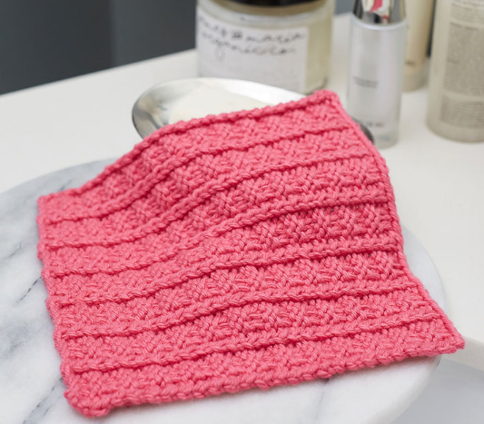 Sailor's Rib Stitch Washcloth