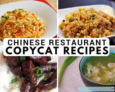 Chinese Restaurant Copycat Recipes