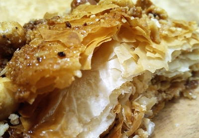 Simple Homemade Hazelnut Baklava