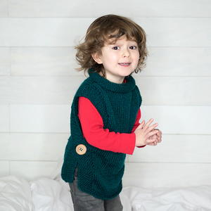 Jade Sleeveless Sweater