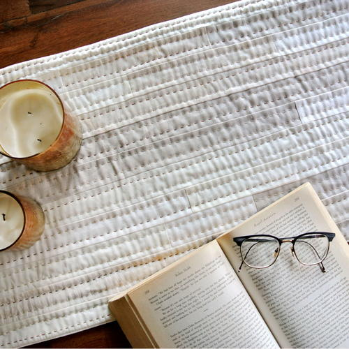 Simple and Elegant Quilted Table Runner