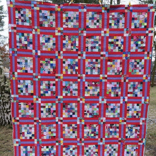 Simply Scrappy Quilt Pattern