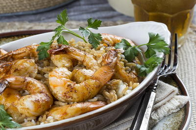 Louisiana Shrimp Bake