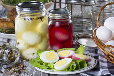 Tangy Pickled Eggs