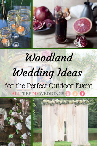50 Woodland Wedding Ideas for the Perfect Outdoor Event