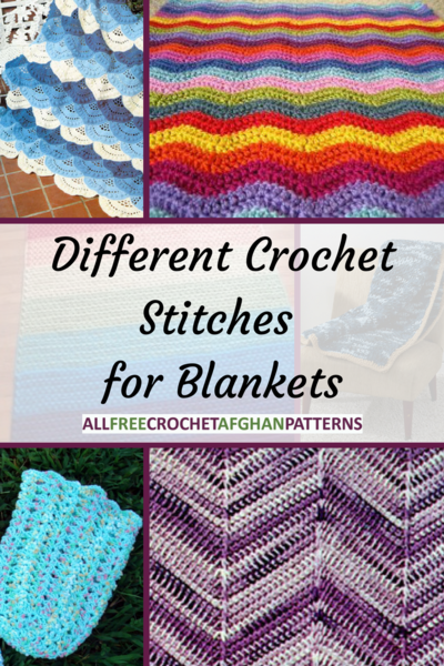 10 Different Crochet Stitches for Blankets