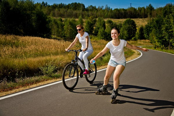 Bike and Rollerblading Hobby
