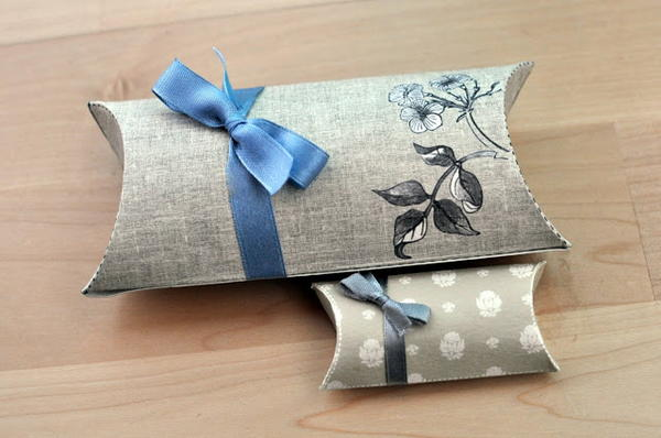 Printable Pillow Gift Boxes