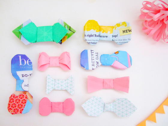 Couture Paper Bow Ties