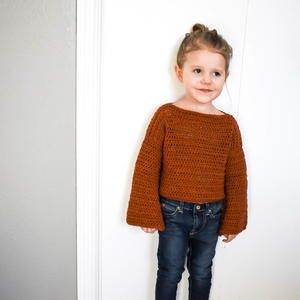 Toddler Bell Sleeve Sweater