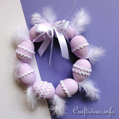 Lovely Easter Egg Wreath