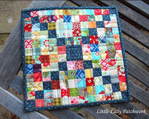 Square Dance Mini Quilt