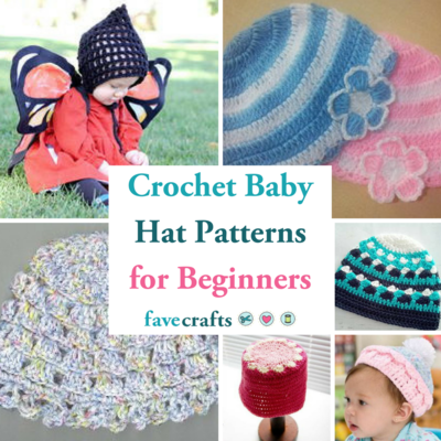 18 Crochet Baby Hat Patterns for Beginners  49647a161f2