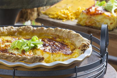 Buffalo Wing Quiche
