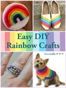 21 DIY Rainbow Crafts