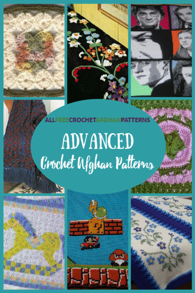 19 Advanced Crochet Afghan Patterns
