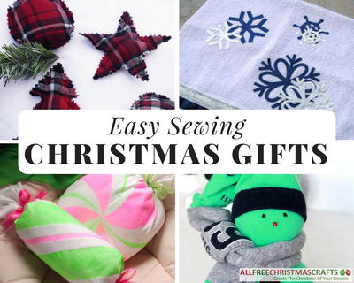 Easy Sewing Christmas Gifts