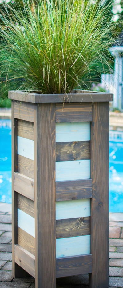 DIY Cedar Planter Tutorial