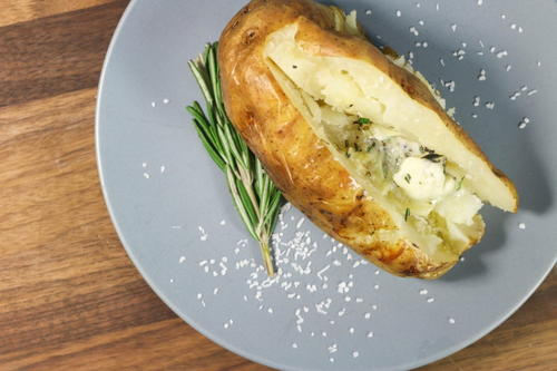 Simple Salt-Baked Potato Recipe