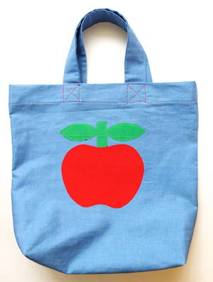 Retro Apple Tote