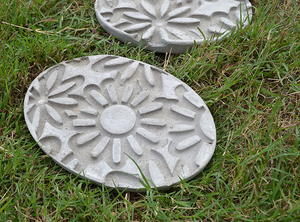 How to Make Embossed Stepping Stones