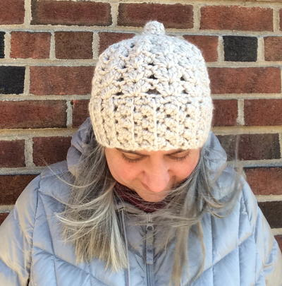 Chunky Double V-Stitch Hat
