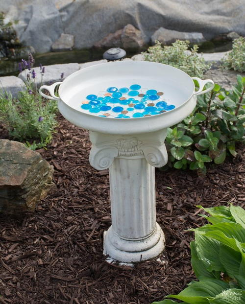 Budget-Friendly Bird Bath