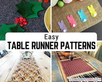 32 Easy Table Runner Patterns for Any Occasion