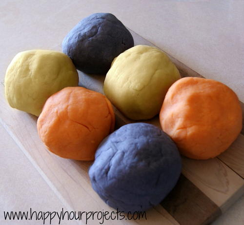 DIY Playdough with Kool-Aid