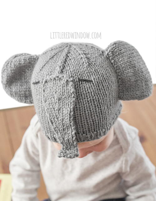 Tiny Elephant Knit Hat