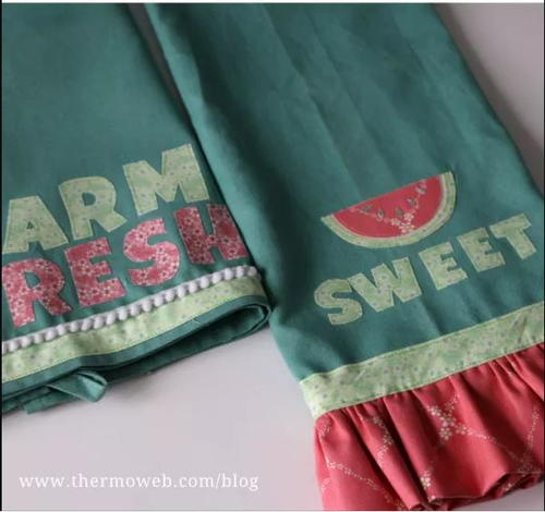 Quick-and-Easy Sew Sweet Kitchen Towels