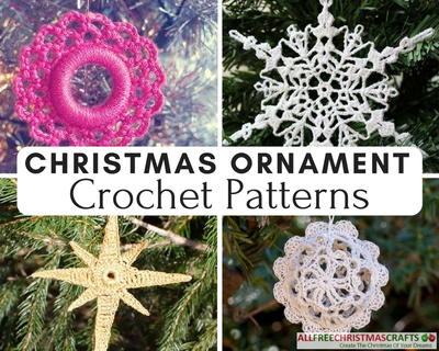 Crochet Christmas Ornaments Patterns Free.Crochet Ornaments 30 Free Christmas Patterns